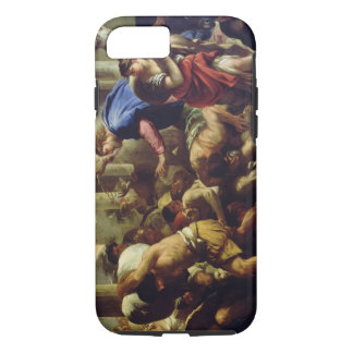 Christ Driving the Merchants from the Temple iPhone 7 Case