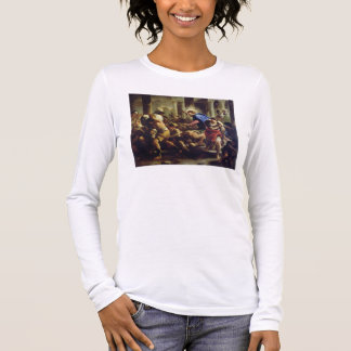 Christ Driving the Merchants from the Temple Long Sleeve T-Shirt