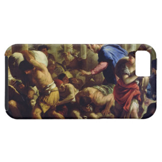Christ Driving the Merchants from the Temple Tough iPhone 5 Case