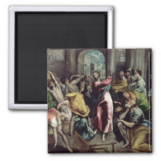 Christ Driving the Traders from the Temple Square Magnet