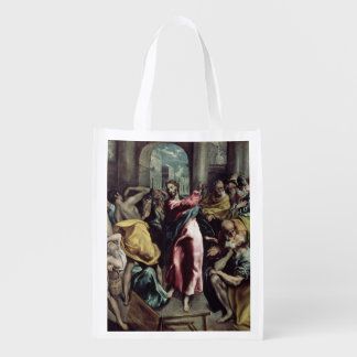 Christ Driving the Traders from the Temple Market Tote