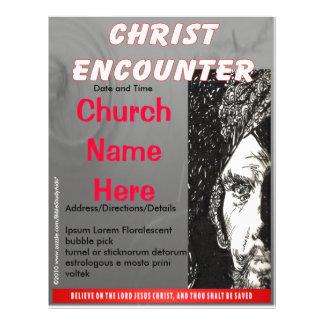 Christ Encounter Flyer Grey