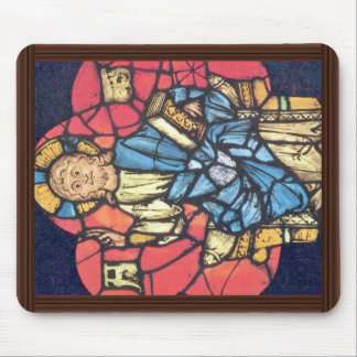 Christ Enthroned By Oberrheinischer Meister Um 124 Mouse Pad