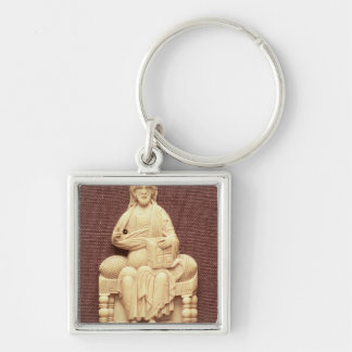 Christ enthroned, Byzantine, 10-11th century Key Ring