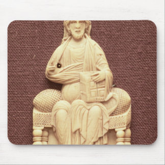 Christ enthroned, Byzantine, 10-11th century Mouse Mat