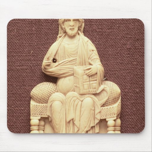 Christ enthroned, Byzantine, 10-11th century Mousepads