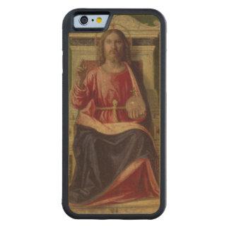 Christ Enthroned, c.1505 Maple iPhone 6 Bumper Case