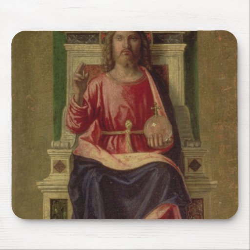 Christ Enthroned, c.1505 Mousepad