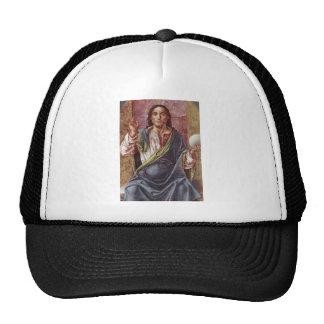 """Christ Enthroned"" circa 1450 Trucker Hats"