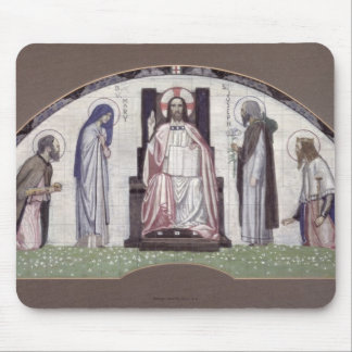 Christ Enthroned Mouse Mat