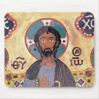 Christ Enthroned Mouse Pad