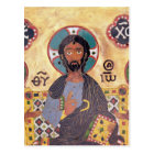 Christ Enthroned Postcard
