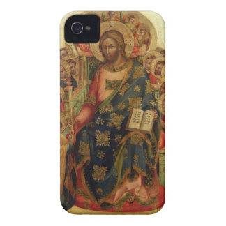Christ Enthroned with Saints and Angels Handing th Case-Mate iPhone 4 Case