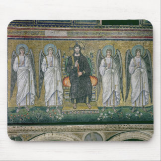 Christ enthroned with the angels 2 mouse mat