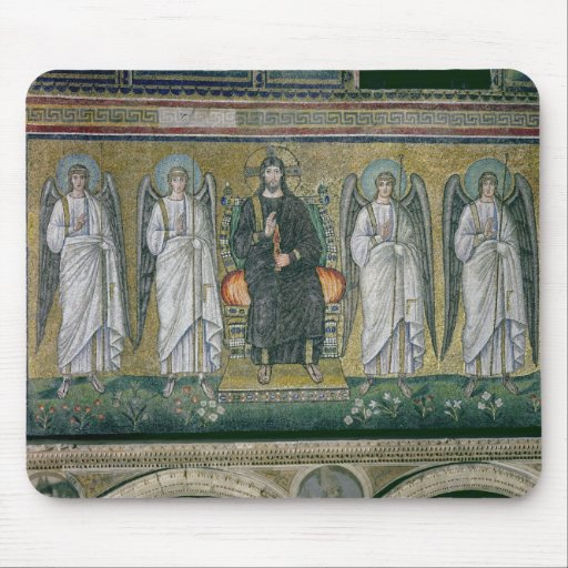 Christ enthroned with the angels 2 mousepads