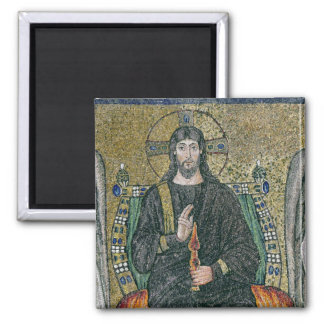 Christ enthroned with the angels magnet