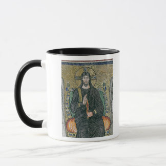 Christ enthroned with the angels mug