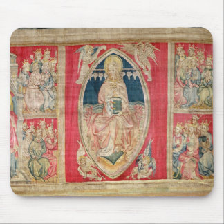 Christ enthroned with the apocalyptic beasts mouse mat