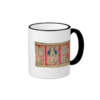Christ enthroned with the apocalyptic beasts mugs