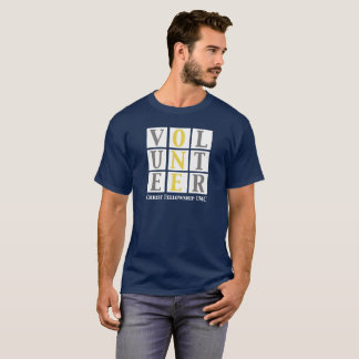 Christ Fellowship volunteer block shirt