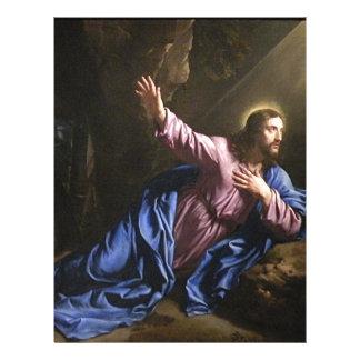 Christ garden faith hope love pray prayer angel 21.5 cm x 28 cm flyer