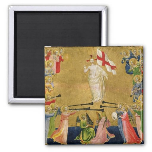 Christ Glorified in the Court of Heaven, 1423-24 Magnets