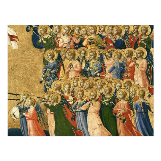 Christ Glorified in the Court of Heaven Postcard