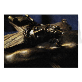 Christ has died, Christ has risen Greeting Card