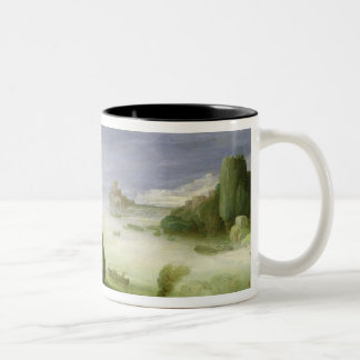 Christ Healing the Possessed of Gerasa, 1608 Two-Tone Coffee Mug