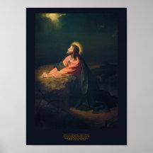 Christ in Gethsemane - Heinrich Hofmann 1890