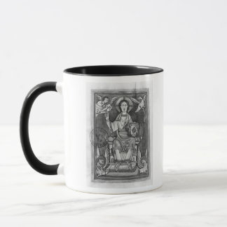 Christ in Majesty, from a Benedictional Mug