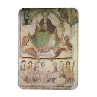 Christ in Majesty with Four Evangelical Symbols an Rectangular Photo Magnet