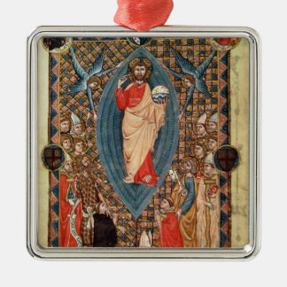 Christ in Majesty with Saints Christmas Ornament