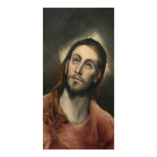 Christ in Prayer by El Greco Picture Card
