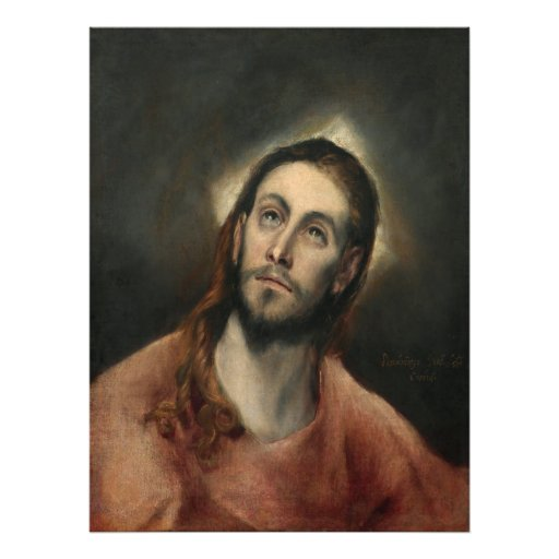 Christ in Prayer by El Greco Photographic Print