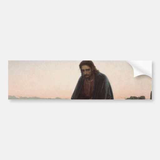 Christ in the Desert Bumper Stickers
