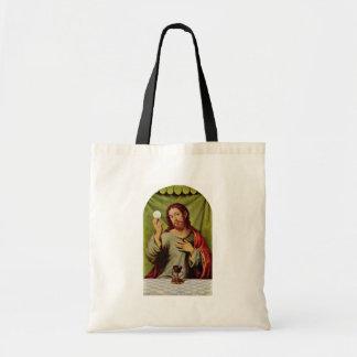 Christ In The Eucharist By Juanes Juan De Best Qu Canvas Bag