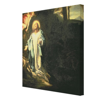 Christ in the Garden of Gethsemane 3 Gallery Wrapped Canvas