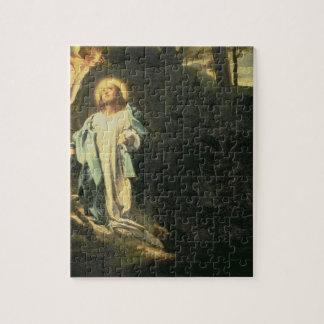 Christ in the Garden of Gethsemane 3 Jigsaw Puzzle
