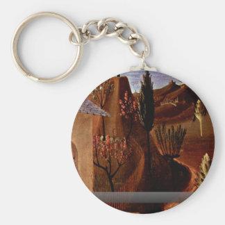 Christ In The Garden Of Gethsemane Keychains