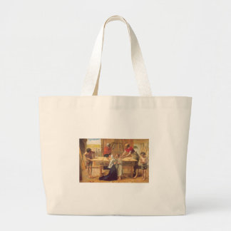 Christ In the House of His Parents Tote Bags