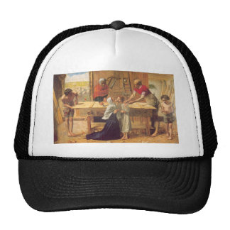 Christ In the House of His Parents Mesh Hats
