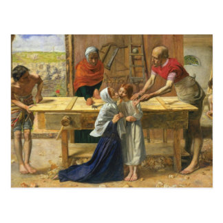Christ In The House Of His Parents Postcard