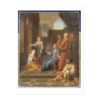 Christ in the House of Martha and Mary Postcard