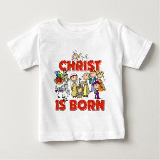 Christ Is Born Christmas Gift Baby T-Shirt
