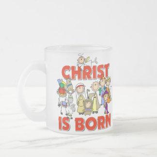 Christ Is Born Christmas Gift Coffee Mug