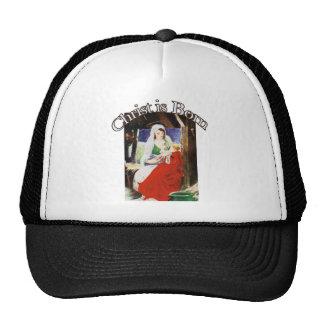 Christ is Born Hats