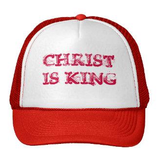 CHRIST IS KING MESH HATS