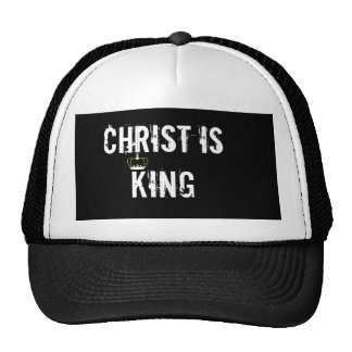 CHRIST IS KING MESH HAT