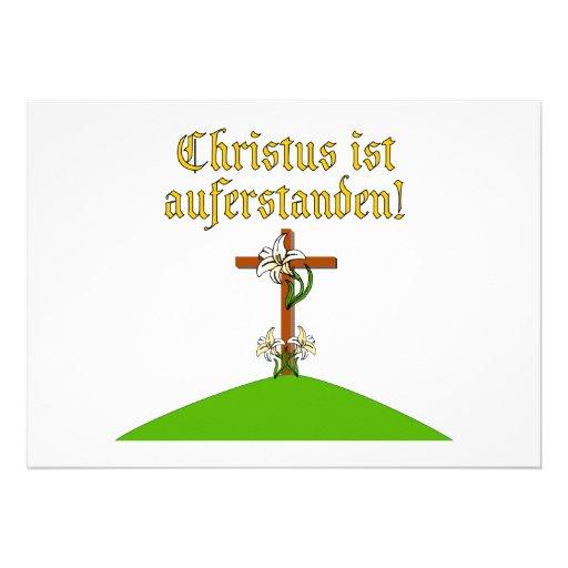 Christ is Risen Invite